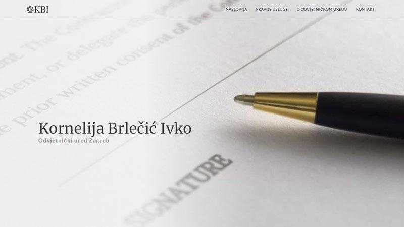 Internet stranice odvjetničkog ureda